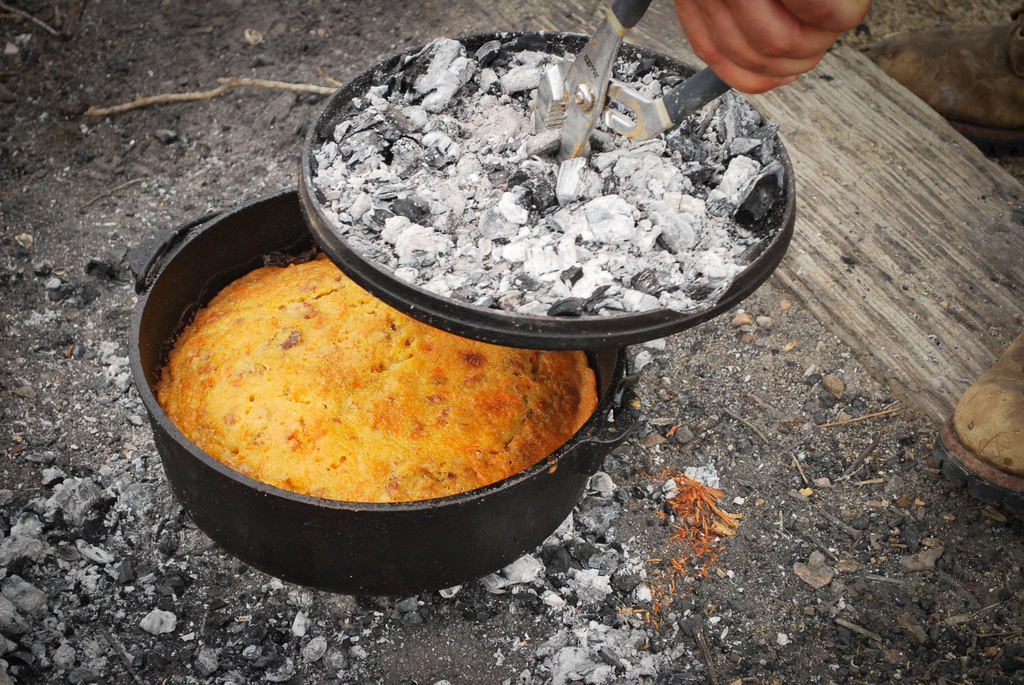 dutch oven cooking outdoor dining